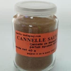 Cannelle Sauvage de Madagascar moulu