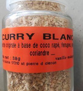 Curry blanc