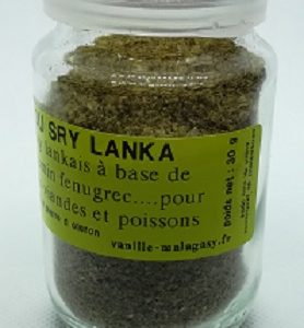Curry du Sry Lanka