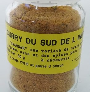 Curry du sud de l'inde