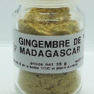 Gingembre de Madagascar poudre