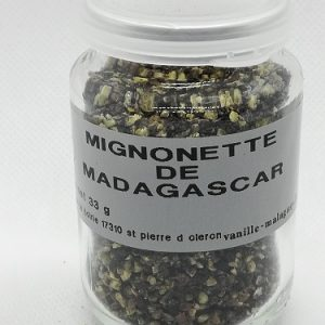 Poivre noir de Madagascar mignonnette