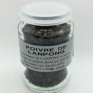 poivre de noir de Lampong en grain