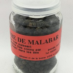 Poivre noir de Malabar grain
