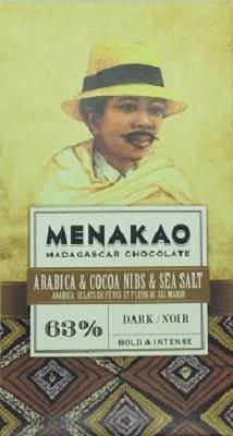 chocolat noir café, fleur de sel (mini)