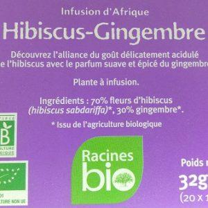 Hibiscus Gingembre Bio